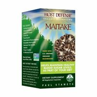 Host Defense Maitake 60 Caps - Free Fast Shipping
