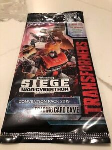 SDCC 2019 Hasbro Transformers The Trading Card Game Convention Packs
