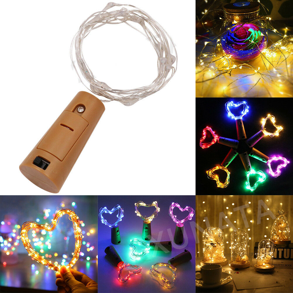 50//100 LEDs Copper Wire USB Fairy String Lights 8 Modes Xmas Home Party Decor yu
