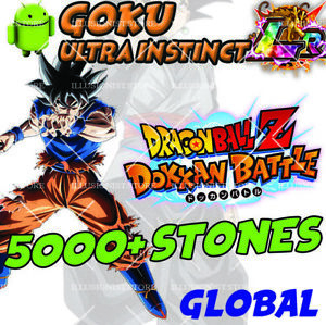 NEW-Goku-UI-LR-with-4500-Stones-FOR-Dokkan-Android-APP-Global-Battle-Stone