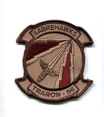 VT-86 SABREHAWKS US NAVY USMC T-45 GOSHAWK Training Squadron Jacket Patch