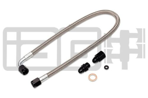 For Subaru IAG Performance Braided Power Steering Line Rotated Turbo Routing