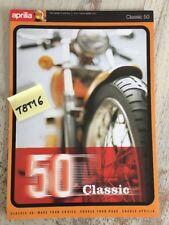 Aprilia Classic 50 prospectus moto brochure dépliant publicité