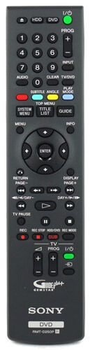 Genuine Sony Remote Control For RDR-HXD770 & RDR-HXD870