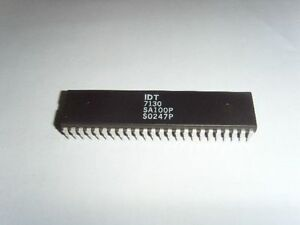 1PCS IDT7132SA100P IDT7132SA DIP-48 HIGH-SPEED 2K x 8 DUAL-PORT STATIC RAM