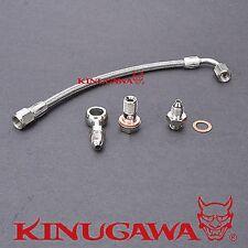 Kinugawa Turbo Oil Feed line fit Mitsubishi Lancer GSR 4G93T 1.8T TD04L TD05H