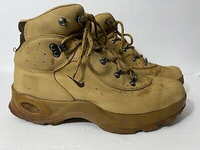 Nike Air ACG Hiking Boots Mens Size 12 Brown Leather Lace Up | eBay
