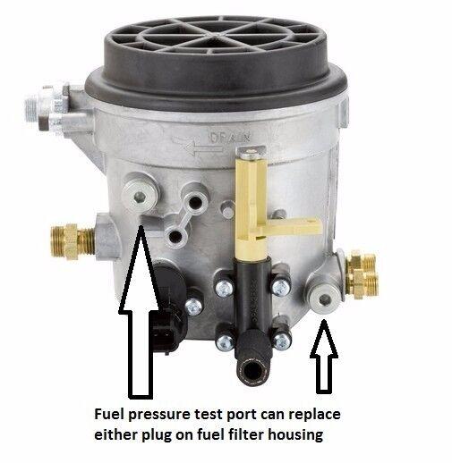 Ford Powerstroke Diesel 73 Fuel Pressure Test Adapter Schrader Rhebay: Ford 7 3 Powerstroke Fuel Filter Housing At Gmaili.net