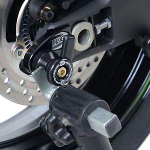 Kawasaki-ZX10-R-R-amp-G-Racing-Offset-Cotton-Reels-Paddock-Stand-Bobbins