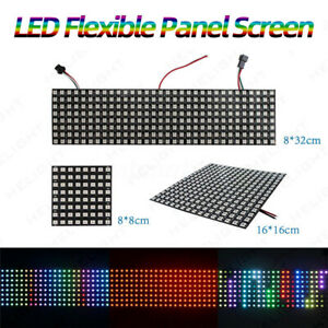 WS2812B-RGB-Individually-Addressable-LED-Flexible-Panel-Screen-DC5V