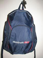 1 nice rare vtg 80s 90s reebok navy sport gym satchel backpack navy red cool
