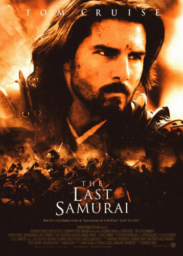 The Last Samurai 2003 Movie Poster Print A0-A1-A2-A3-A4-A5-A6-MAXI 794