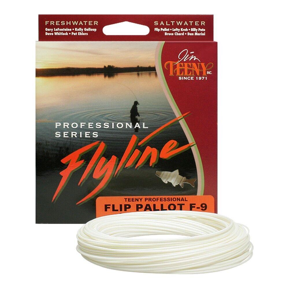 Jim TEENY Flip Pallot Flats Fliegenschnur - Fly Line - WF 6-12 F - UVP