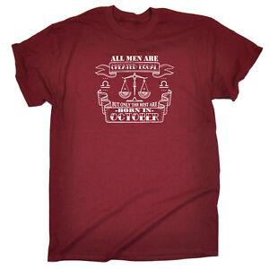 Drole-Nouveaute-T-Shirt-Homme-Tee-T-Shirt-Hommes-octobre-Libra
