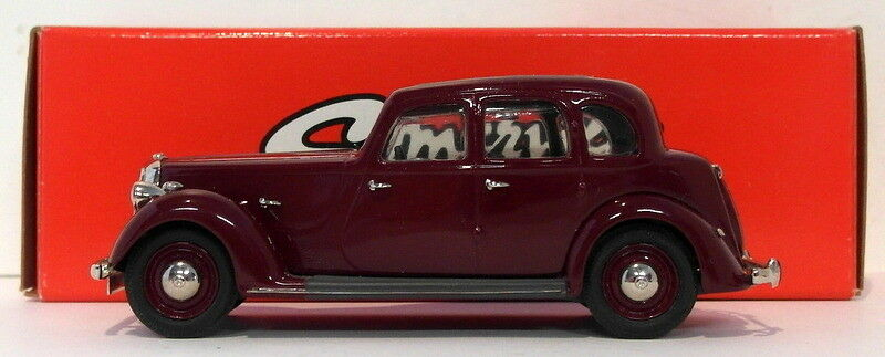 Somerville Models 1 43 Scale 148 - 1937 Rover P2 (6 Light) - Maroon