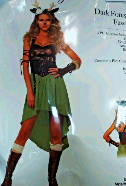 Leg Avenue Cozy Fawn Christmas Halloween Women/'s Adult Costume 85587