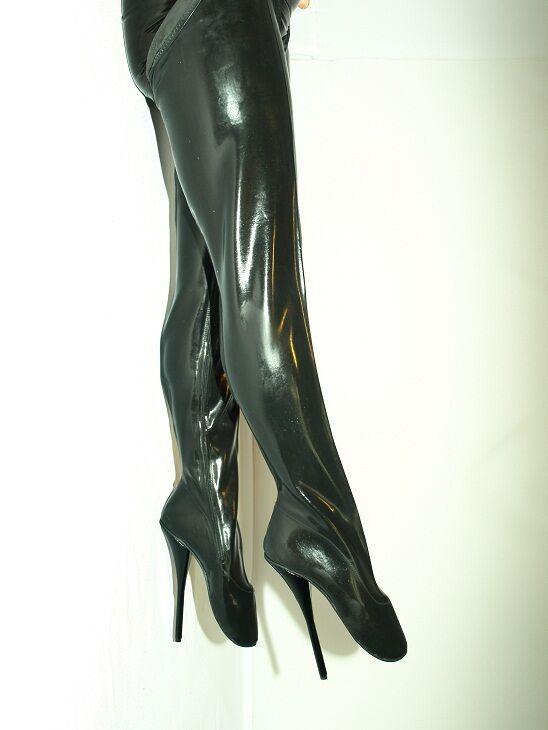 High heels, gummi stiefel ballet boots size 40-47 absatz 21cm produce poland