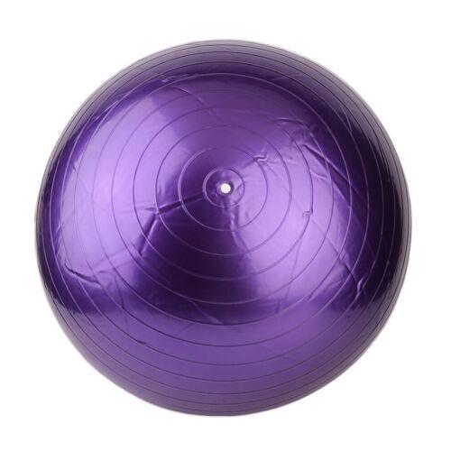 Gymnastikball 45//55//65//75//85 cm Bürostuhl Sitzball Fitnessball Pilates Pumpe0B