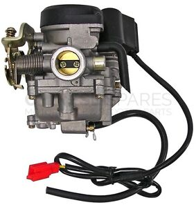 50cc-4T-Scooter-Carb-Carburettor-139QMB-GY6-Baotian-Direct-Bikes-Pulse-Jinlun
