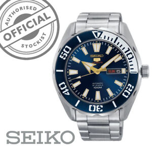 Seiko-5-Sports-Stainless-Steel-Blue-Dial-Automatic-Mens-Watch-SRPC51K1