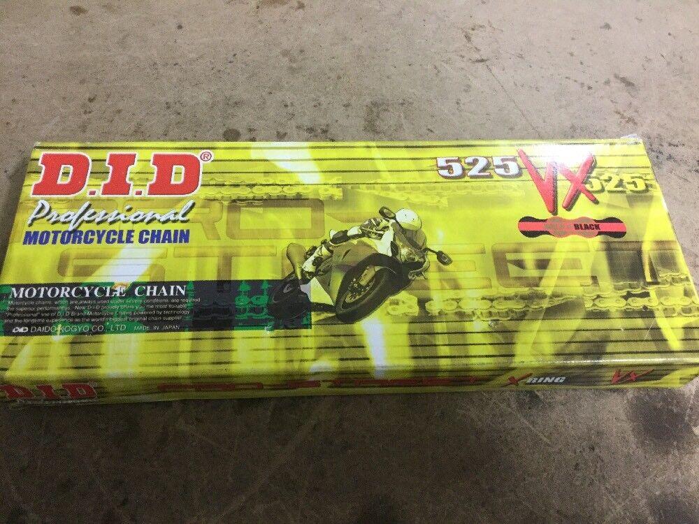 D.I.D Rivet Connecting Link for 428 Pro-Street VX Series X-Ring Chain Black ZJ428VX