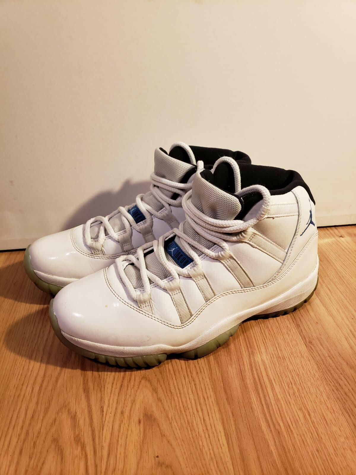 Jordan 11 Retro Legend Blau 378037-117 Größe 8.5