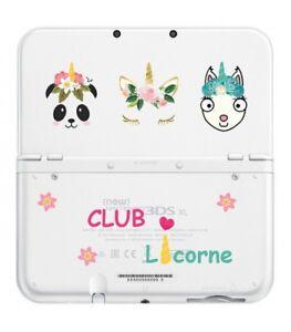 Coque New 3ds Xl Club Licorne Panda Lama Unicorn Kawaii Transparente Ebay