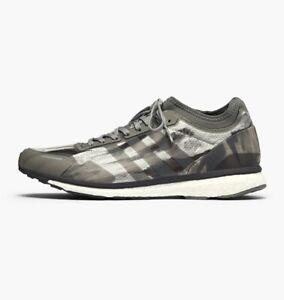 wholesale dealer 91f9a 86e4c Image is loading Adidas-Originals-x-Undefeated-Adizero-Adios-Shift-Grey-