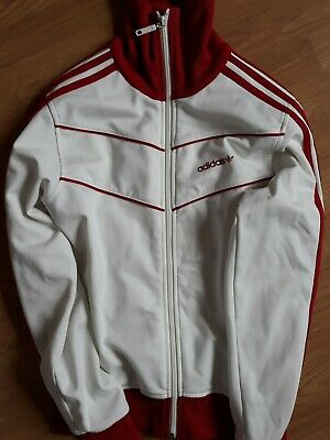 Adidas Original Damen Bold Alter Übergröße Trainingsjacke