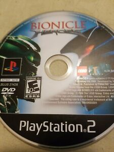 Bionicle Heroes (PlayStation 2, PS2) Disc Only, Tested!