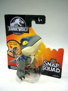 Jurassic World Velociraptor Blue Snap Squad Dinosaur ...
