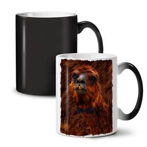 Llama Beast Wild NEW Colour Changing Tea Coffee Mug 11 oz | Wellcoda