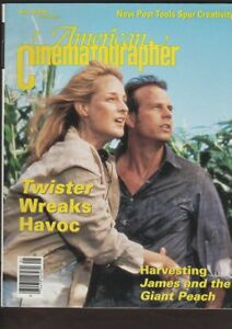 Details about American Cinematographer, May 96, Twister, James and the  Giant Peach, Flipper