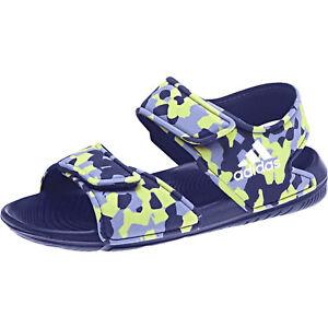 quality design d9d83 0e497 La imagen se está cargando adidas-nino-LIFESTYLE-altaswim-Piscina-Sandalias- Playa-Tira-