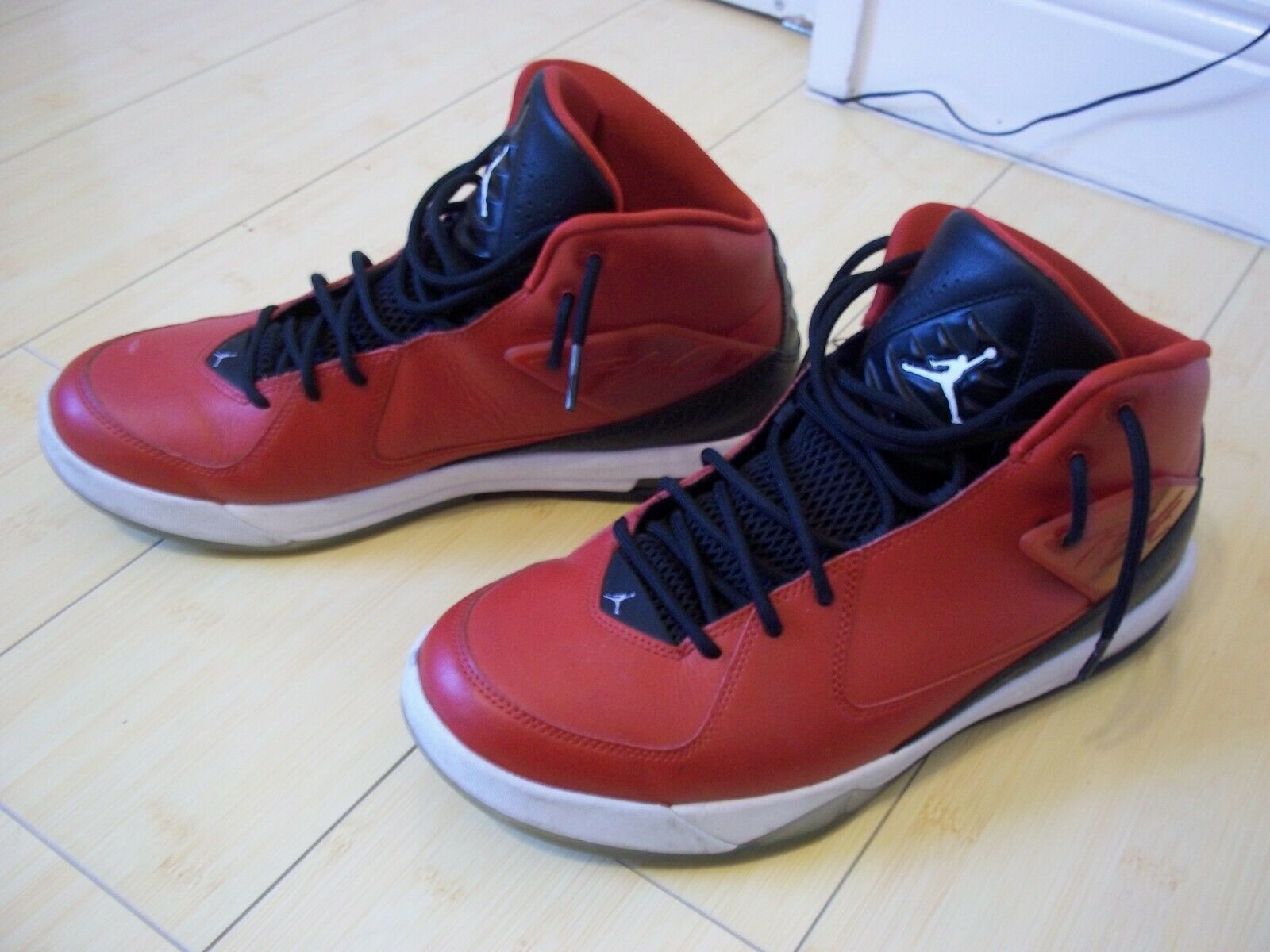 5db15e6765 MENS NIKE AIR JORDAN SNEAKERS INCLINE FLIGHT 705796-600 SZ 10.5 RED  BASKETBALL nxorpk948-Athletic Shoes