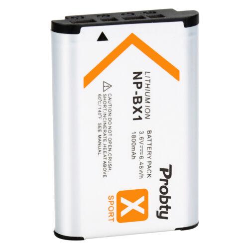 NP-BX1 Batería o Cargador Para Sony DSC-HX80 HX50V HX90V HX95 HX99 HX300 RX100 IV