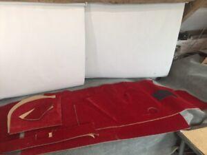 Mini-Cooper-MK1-1961-67-amp-mk2-1967-71-Veltone-carpet-Set-In-Red