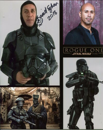 Rogue One Daniel Eghan Photo Signed In Person Star Wars E483