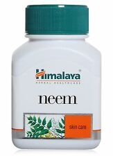 Himalaya Herbal Neem Azadirachta Indica Acne Skin Care Anti Bacterial 60 Capsule