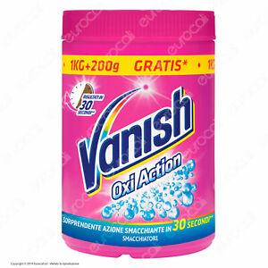 Vanish-Oxi-Action-Rosa-SMACCHIATORE-in-POLVERE-1000gr-200gr-GRATIS