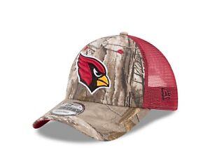 aa877ff4b Image is loading Arizona-Cardinals-New-Era-Realtree-Trucker-Mesh-9Forty-
