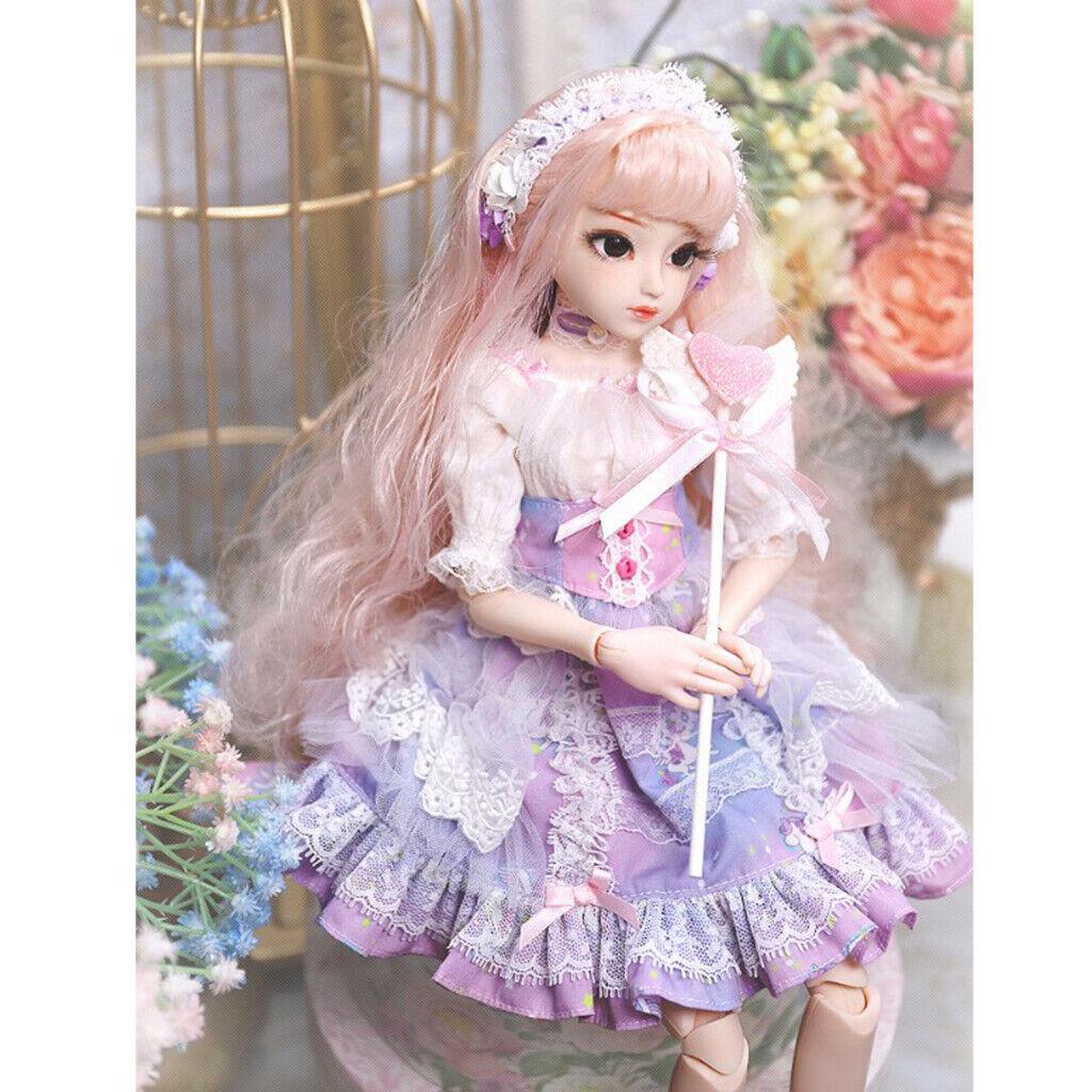 1 4 BJD Kugelgelenk Doll Box Geschenk Moderne Mädchen Körper Kleidung