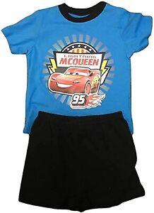 Disney Cars Lightning McQueen Short Pyjamas. Age 5-6 Years. Free Postage. New