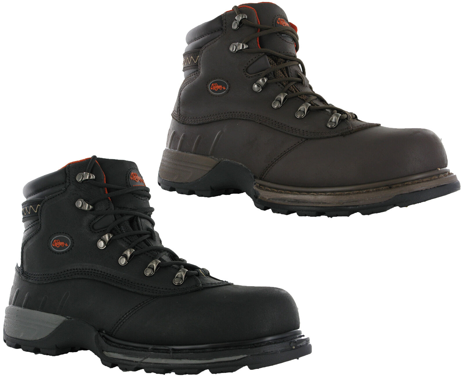 WORKFORCE HYDRY WF sicurezza in pelle HYDRY WORKFORCE IMPERMEABILE in acciaio Puntale Work Boots da uomo e2d3ca