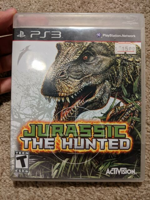 Jurassic the Hunted (Sony PlayStation 3) PS3 Complete With Manual