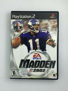 Madden-NFL-2002-Playstation-2-PS2-Game-Complete-amp-Tested