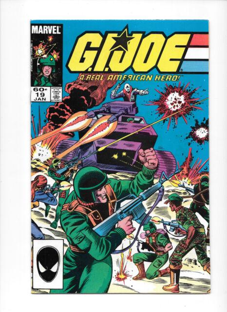 G.I Choice Joe A Real American Hero #16-79 1983-1988 Marvel Comics