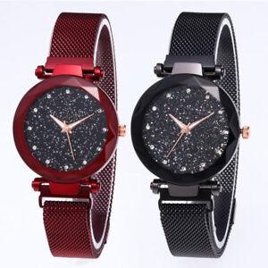 Luxury-Women-Starry-Sky-Watch-Magnet-Strap-Buckle-Female-Fashion-w-Star-Tik-Tok