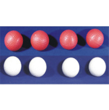Multiplying Golf Balls - In Red or White - Balls Appear, Disappear and Multiply!