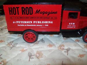 "Ertl #9388 1:32 ""Hot Rod Magazine"" 1931 Hawkeye Box Truck Bank! MIB"
